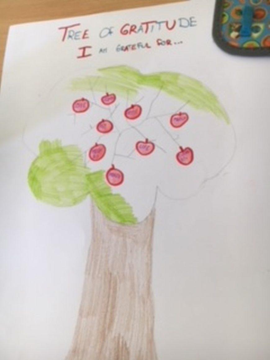 The Tree of Gratefulness ( Strom vďaky )