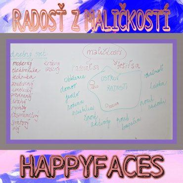 Happyfaces a radosť z maličkostí