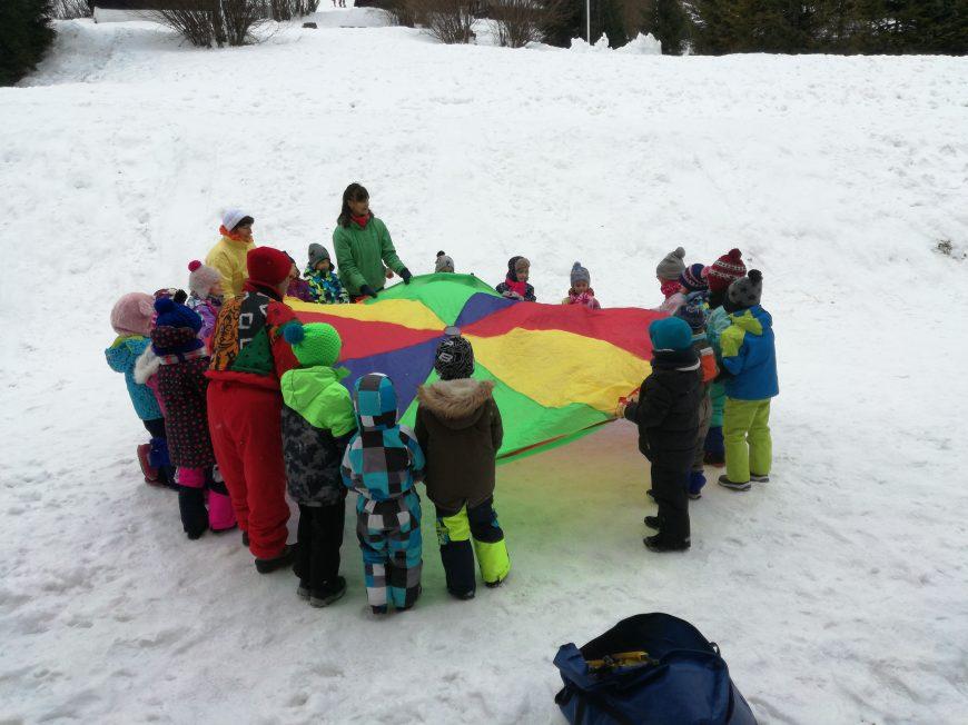 Ani sneh nás neodradil od zábavnej aktivity