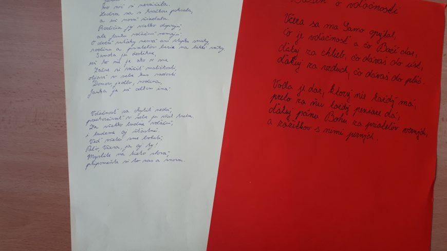 Vďačnosť v poézii