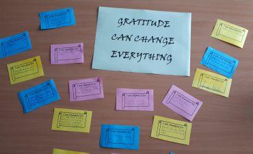 Vďačnosť dokáže zmeniť všetko /  Gratitude can change everything