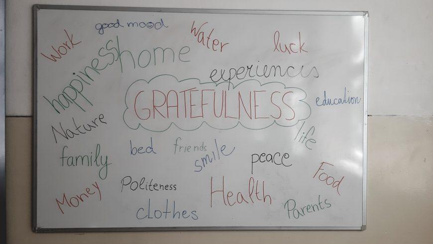Vďačnosť – Gratefulness